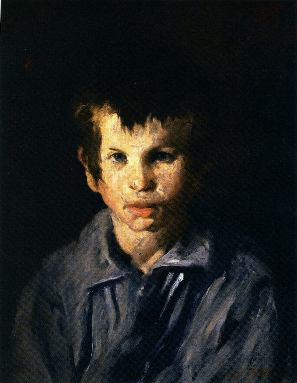 George_Bellows_-_Cross-Eyed_Boy_(1906)
