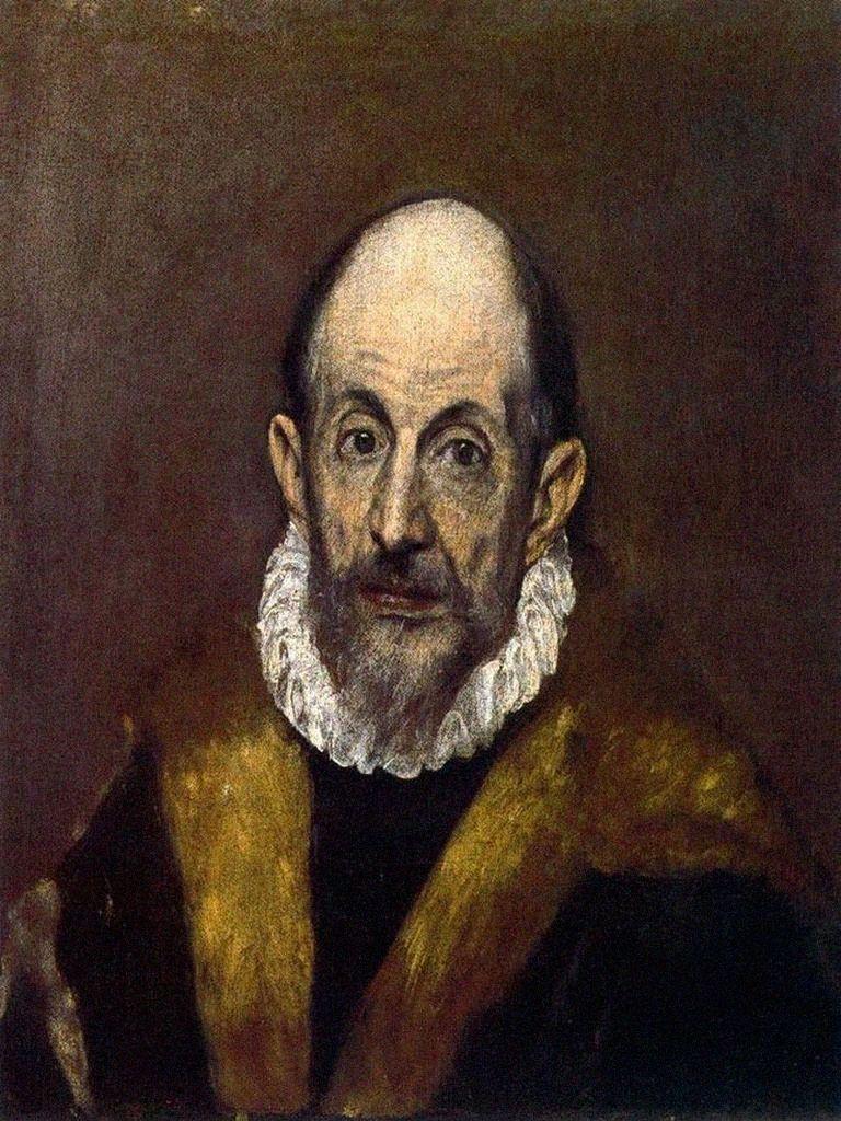 ndice de Biografías - El Greco - Auto retrato