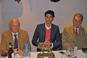 A. Hernando, VB y Pablo Pastor Trofeo Triunfador Corrida   Segovia 2015