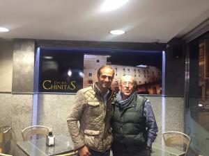 Juan Manuel Cordero y Francisco Lorenzo