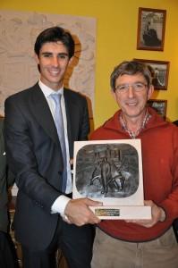 VB con escultor JE Cristobal