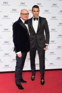 JM Manzanares con el CEO de IWC, Georges Kern