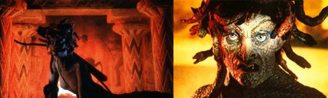 Furia de Titanes la Medusa de Harryhausen