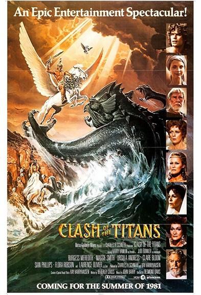 Furia de titanes 1981 poster
