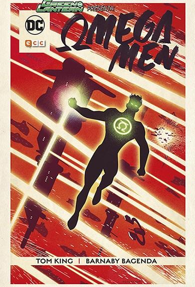 Cubierta de ECC Comics de Omega Men