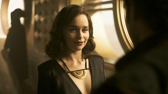 Emilia Clarke Han Solo Star Wars