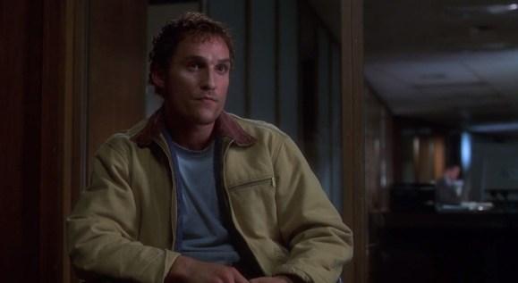 Escalofrío Matthew McConaughey