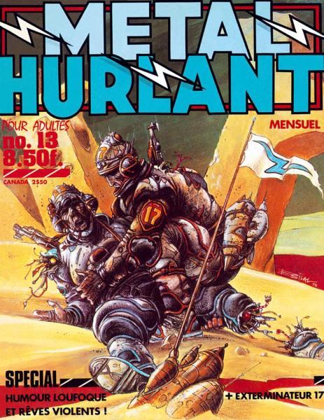Metal Hurlant Comic
