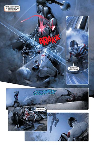 Rai Valiant Comic Samurai