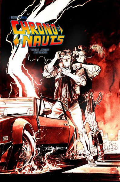 Crononautas Chrononauts Mark Millar  Sean Murphy Image Comics Back to the Future