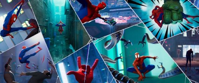 El estilo visual de Spider-Man: Un Nuevo Universo
