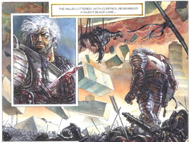La casta de los Metabarones Jodorowsky y Juan Giménez. Othon el primer metabarón