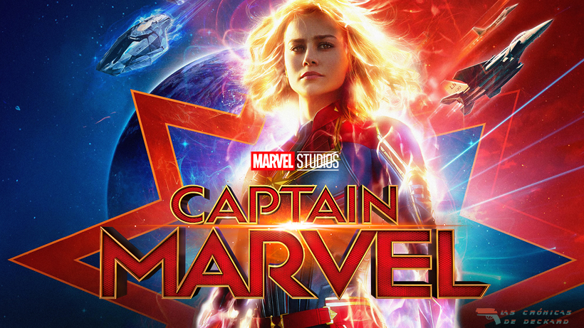 Capitana Marvel Cartel Crónicas de Deckard