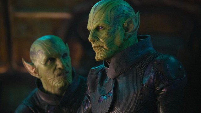Ben Mendelsohn como Talos, un líder Skrull