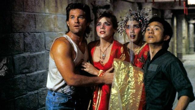 Kurt Russell, Kim Cattral, Dennins Dun Golpe en la pequeña china