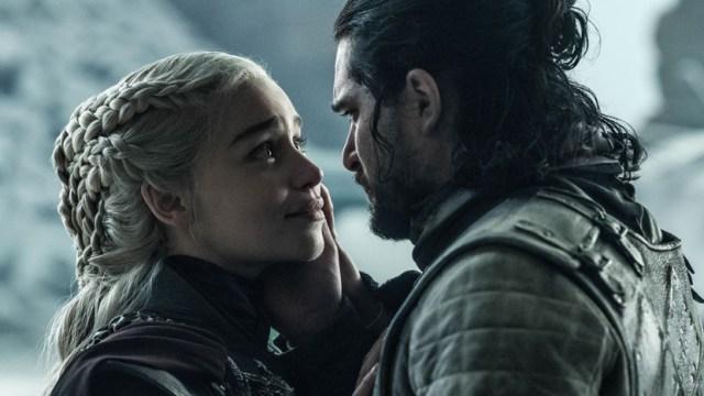 Jon y Daenerys Juego de Tronos Temporada8