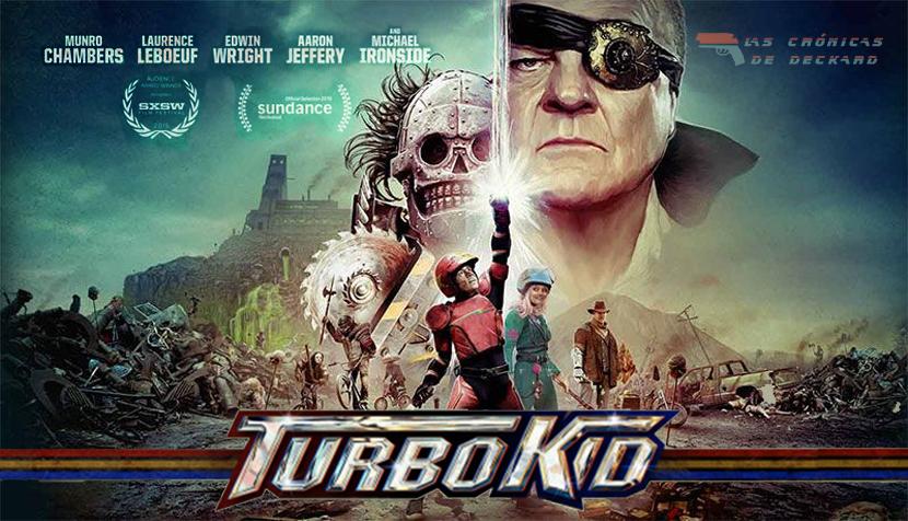 Turbo Kid Poster Las Crónicas de Deckard