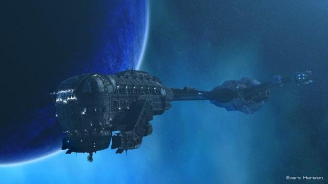La nave Event Horizon