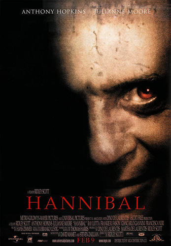 Hannibal de Ridley Scott.