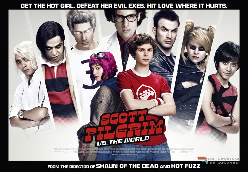 Scott Pilgrim Vs The World Poster Crónicas de Deckard