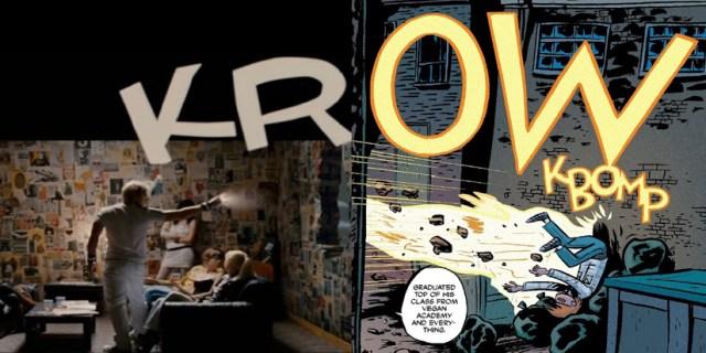 Comic y película de Scott Pilgrim Vs. The World