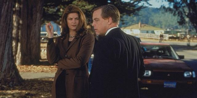 Mark Hamill y Kristie Allie en una escena de la película
