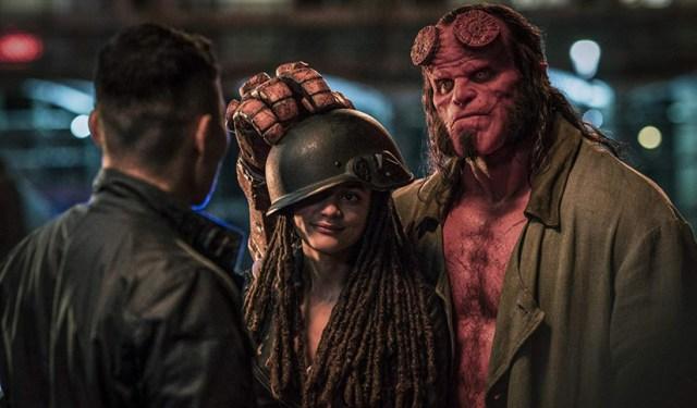 Hellboy y Alice Monaghan.