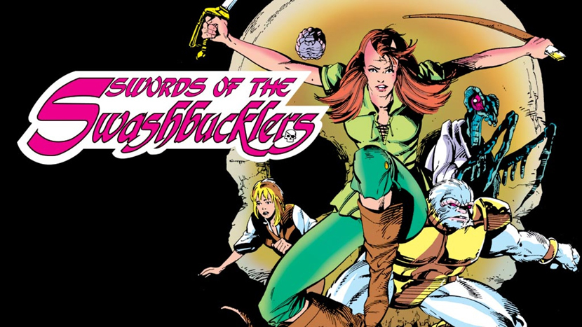 Swords of the Swashbuclers Portada