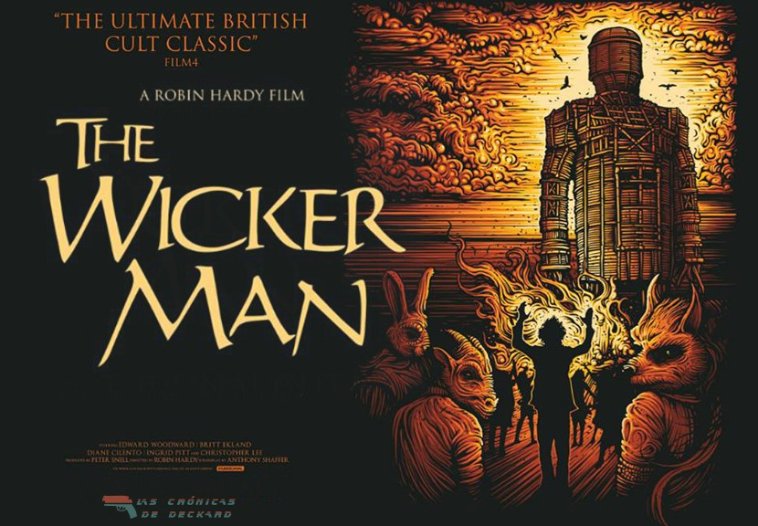 The Wicker Man, Portada Las Crónicas de Deckard