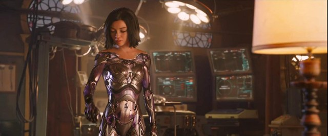 Alita Efectos Especiales Weta Digital