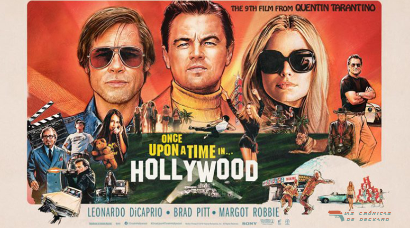 Once upon a time in Hollywood Portada Las Crónicas de Deckard