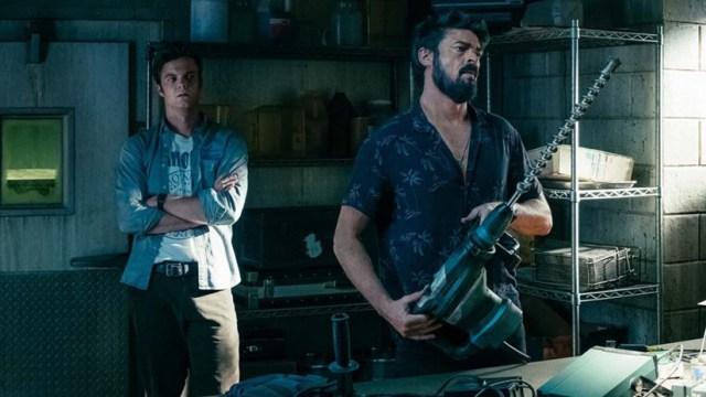 The Boys, Karl Urban con un taladro gigante