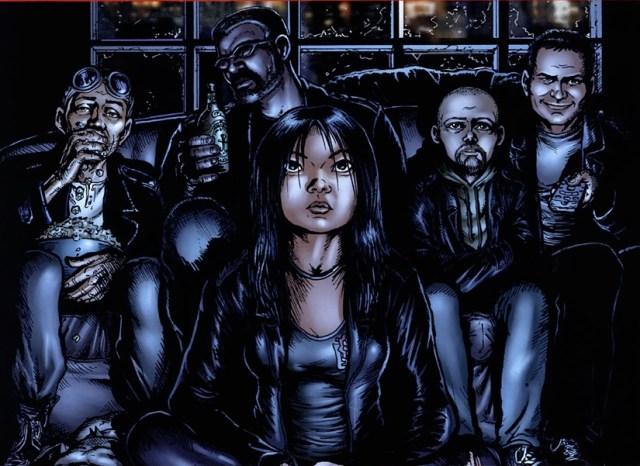 Imagen del cómic de The Boys