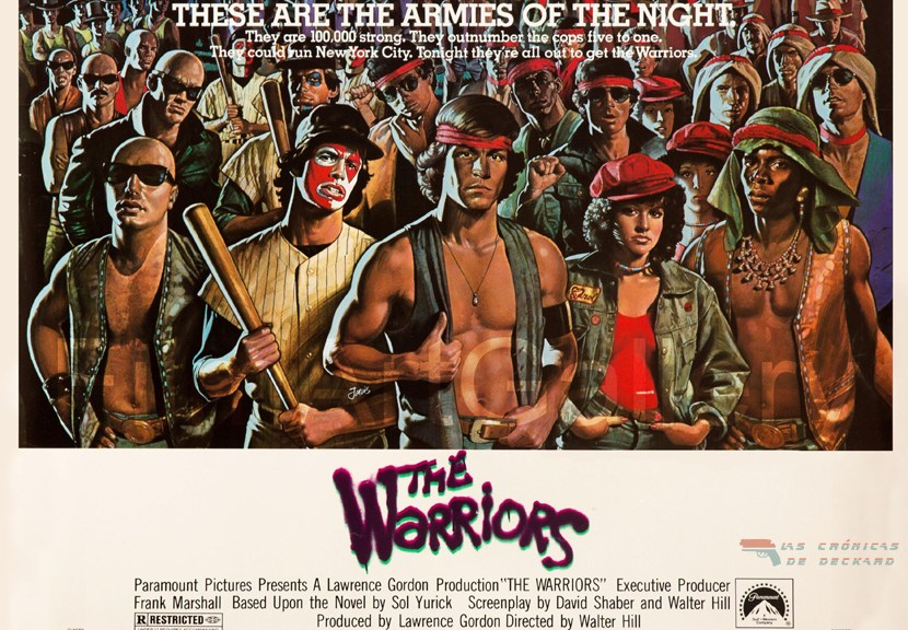 The Warriors Portada Las Crónicas de Deckard