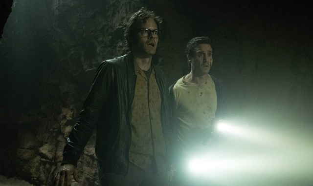 Bill Hader y James Ransone It Capítulo 2