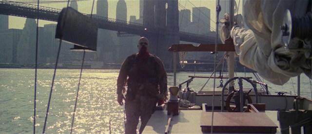 Nueva York bajo el terror de los zombies, barco.