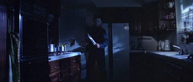 Michael Myers y su cuchillo de cocina.