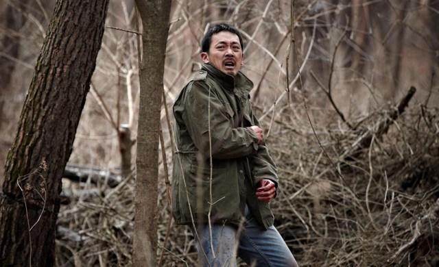 The Yellow Sea Ha Jung-woo en el bosque