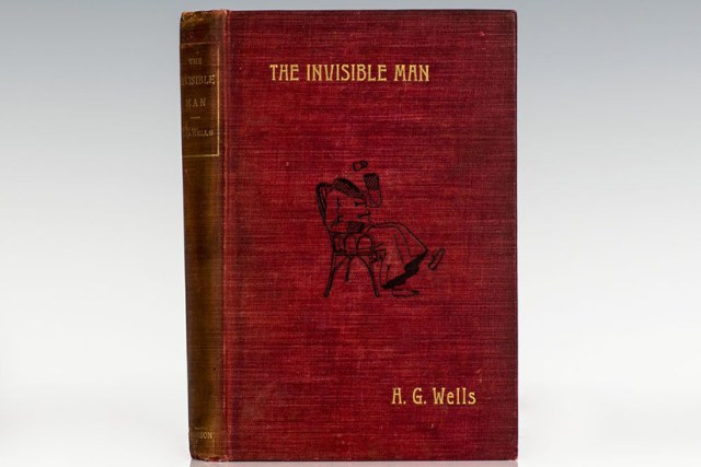 The Invisible Man H.G. Wells book