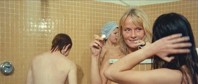 El erotismo no falta en mucho giallos. Imagen de ¿Qué habéis hecho con Solange?