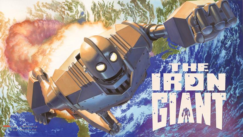 El Gigante de Hierro, portada las Crónicas de Deckard