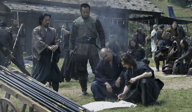 El último Samurái. Ken Watanabe, Tom Cruise, Hiroyuki Sanada.