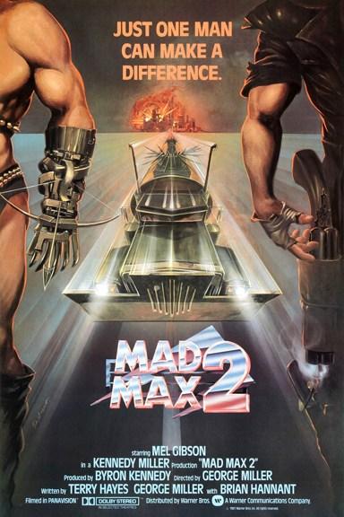 Mad Max 2, El guerrero de la carretera. Portada Las Crónicas de Deckard