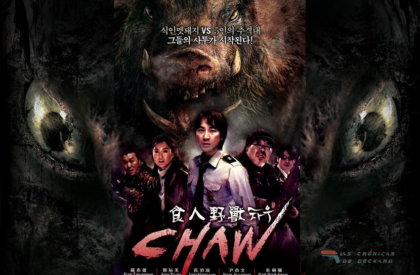 Chaw (2009) Poster Portada Las Crónicas de Deckard