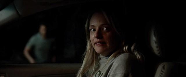 El hombre invisile. Cecilia (Elizabeth Moss) huyendo de su ex.
