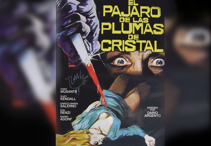 Poster El pájaro de las plumas de cristal Las Crónicas de Deckard