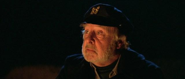 John Houseman en 'La Niebla', de John Carpenter