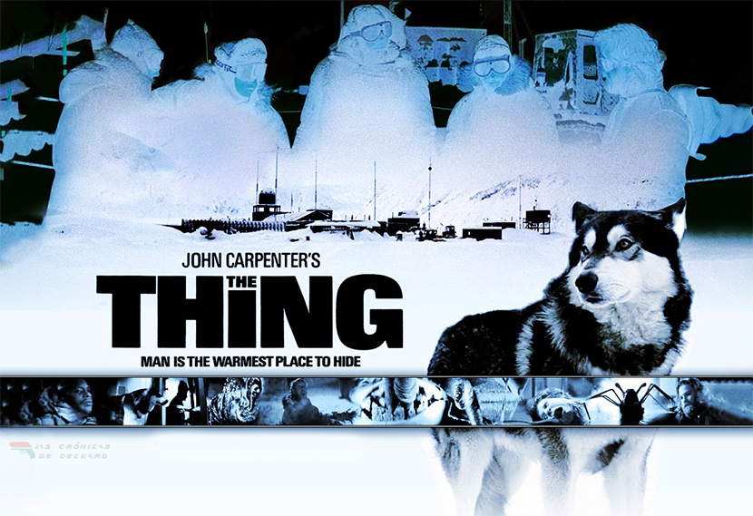 La Cosa (The Thing, 1982) de John Carpenter. Portada para Las crónicas de Deckard