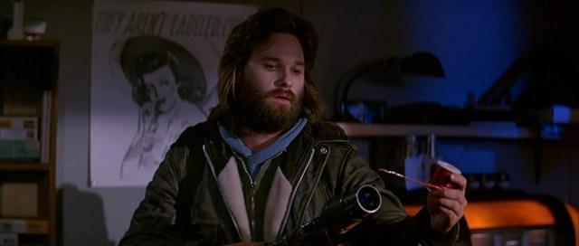 Kurt Russell en La Cosa. La prueba de la sangre.