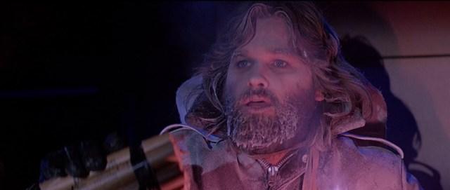 MacReady (Kurt Russell) en The Thing